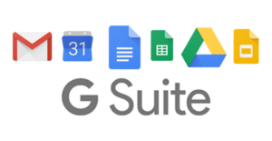 logos for the G Suite products