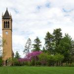 ISU Campanile and central campus