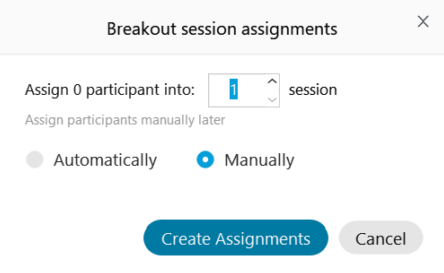 breakout rooms manual assignments