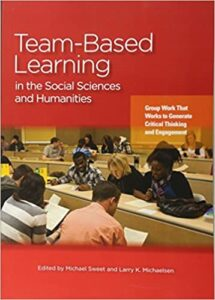 Cover of the book of team-based Learning in the Social Sciences and Humanities