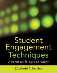 Student Engagement Techniques book by Elizabeth Barkley