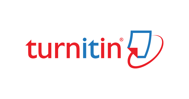 Logo for Turnitlin that reads turn in red, it in blue, and in in red with a blue rectangle and red arrow pointing to the rectangle.